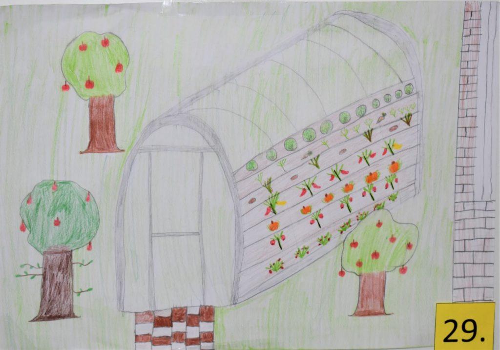 """""""Legzöldebb"""" elképzelés: Friedrich Bori, Marton Kende 5.b"""
